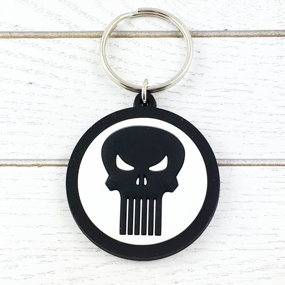 Soft Plastic Keychain | Punisher