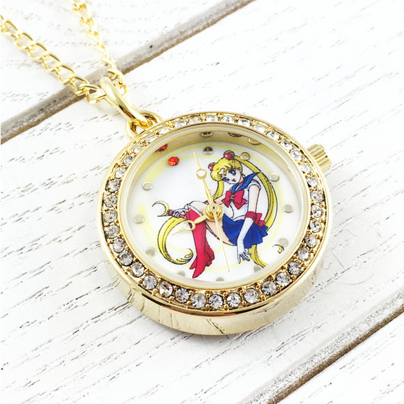 Watch Necklace | Sailor Moon