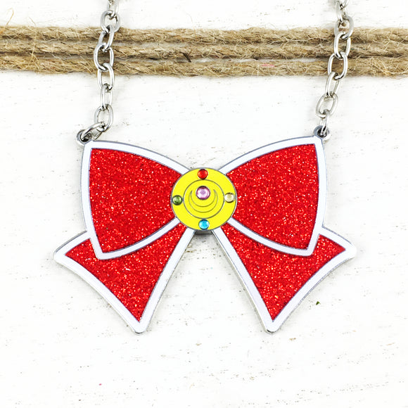 Collier | Sailor Moon | Boucle avec brillants