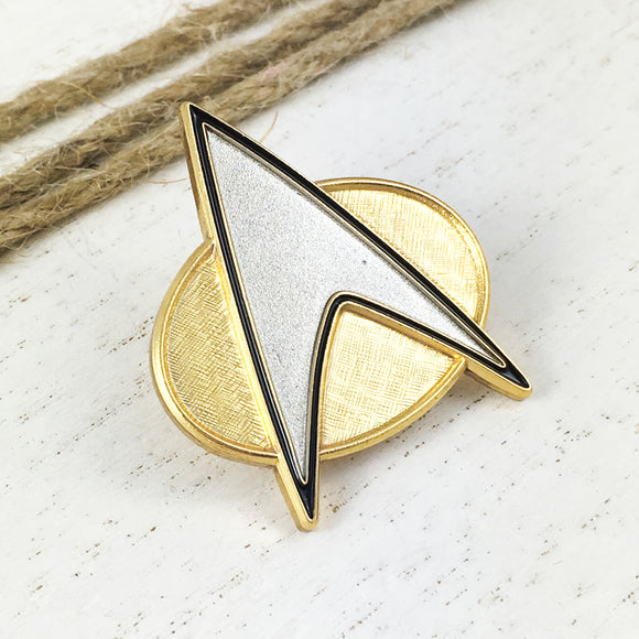 Metal Pin | Star Trek | TNG Badge