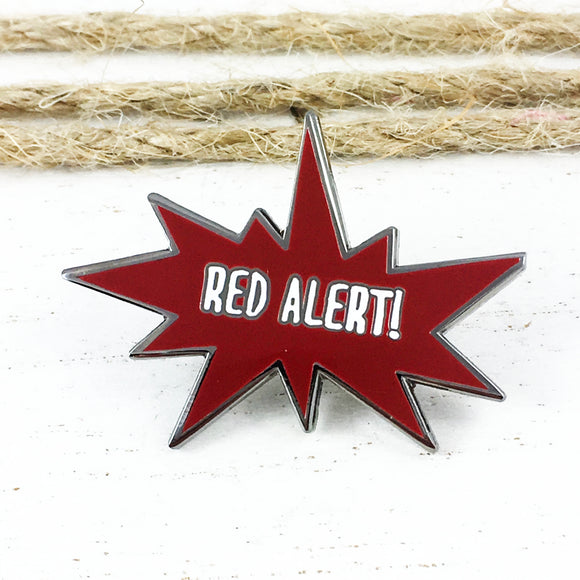 Enamel Pin | Star Trek | Red Alert