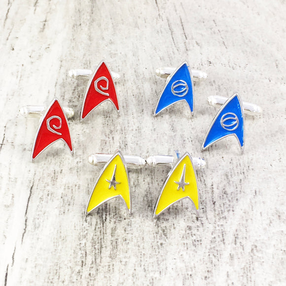 Cuff Links | Star Trek | TOS Deltas