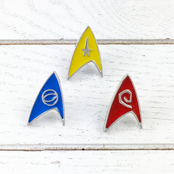 Enamel Pin Set | Star Trek | Original Series Deltas