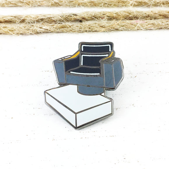 Enamel Pin | Star Trek | Captain's Chair