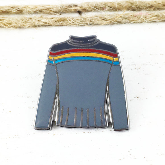 Enamel Pin | Star Trek | Wesley Crusher Sweater