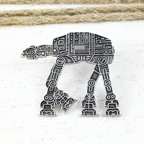Épinglette en métal | Star Wars | AT-AT