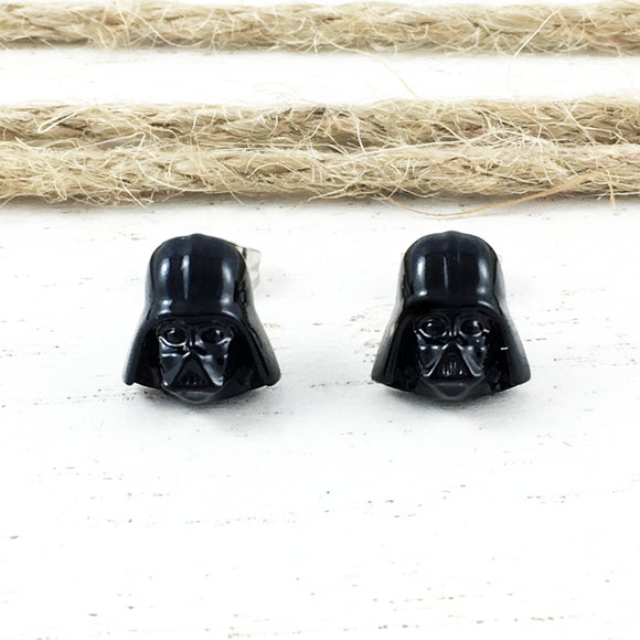 Boucles d'oreilles | Star Wars | Darth Vader 3D