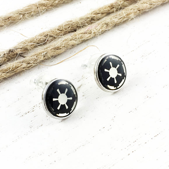 Boucles d'oreilles | Star Wars | Logo Empire