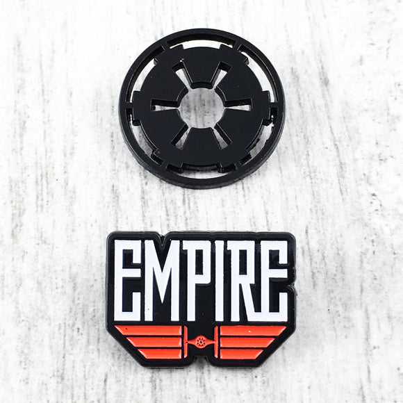Ensemble d'épinglettes | Star Wars | Empire Noir