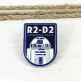 Épinglette en émail | Star Wars | Badge R2D2