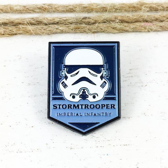 Épinglette en émail | Star Wars | Badge Stormtrooper