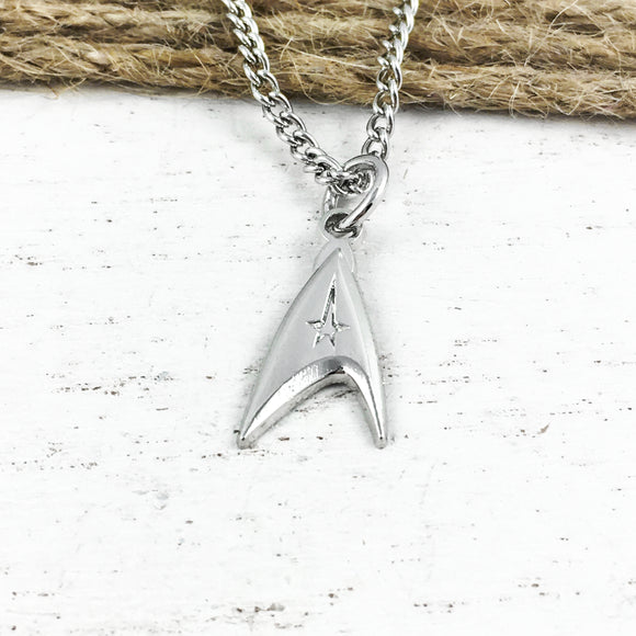 Collier | Star Trek | Insigne du commandant (mini)