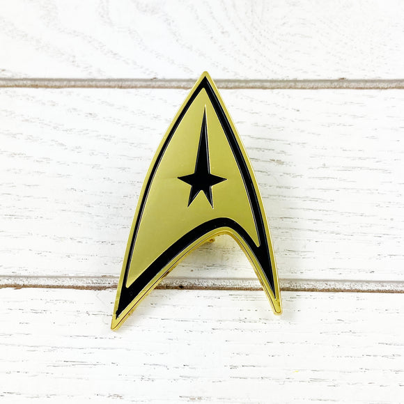 Metal Brooch | Star Trek | Command Insignia