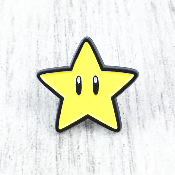Enamel Pin | Super Mario | Starman