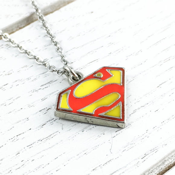 Necklace | Superman | Classic Logo