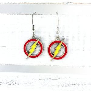 Boucles d'oreilles pendantes | The Flash