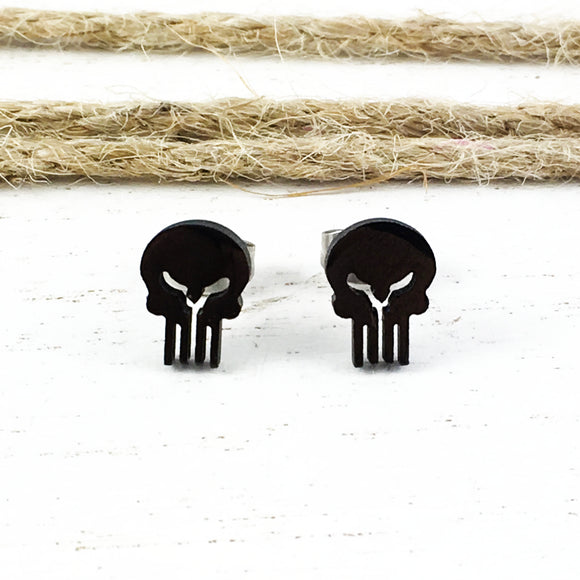 Stud Earrings | The Punisher