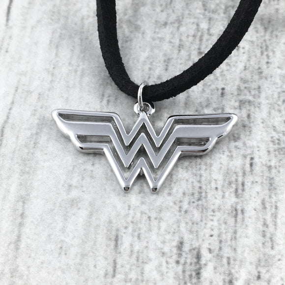 Collier ras-de-cou | Wonder Woman (argenté)