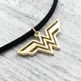 Collier ras-de-cou | Wonder Woman (doré)