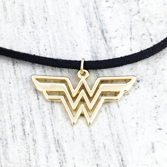 Choker Necklace | Wonder Woman (golden)