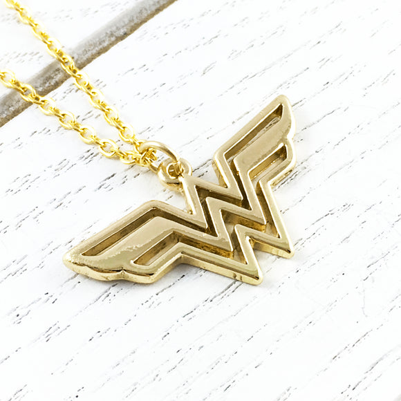 Necklace | Wonder Woman (golden)