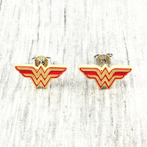 Stud Earrings | Wonder Woman