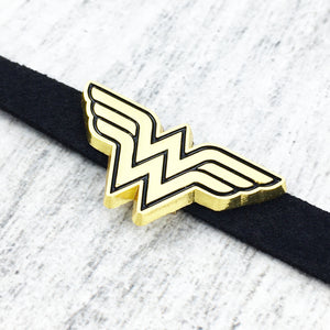 Collier ras-de-cou | Wonder Woman (glissière)
