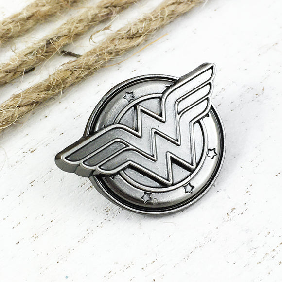 Pewter Pin | Wonder Woman