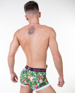 Christmas Green Hipster - Bum-Chums Gay Men's Underwear - Made in UK