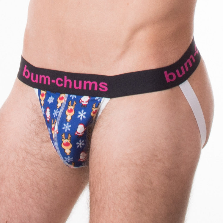Santa's Little Helper Jock - Bum-Chums Gay Men's Underwear - Made in UK