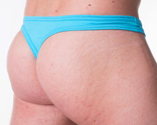 Assylum Aqua Thong - Bum-Chums Gay Men's Underwear - Made in UK