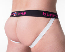 Colour Assylum Aqua Jock - Bum-Chums Gay Men's Underwear - Made in UK