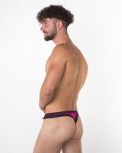 Men's Pink Lace Thong - Bum-Chums Gay Men's Underwear - Made in UK