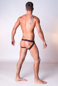 Blueberry Crumble Jock - Bum-Chums Gay Men's Underwear - Made in UK