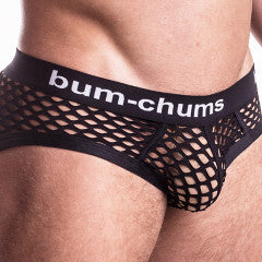 NutSack Black Brief - Bum-Chums Gay Men's Underwear - Made in UK