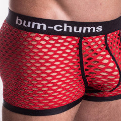 NutSack Red Hipster - Bum-Chums Gay Men's Underwear - Made in UK