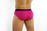 Pink Peach Brief - Bum-Chums Gay Men's Underwear - Made in UK