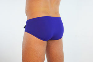 Purple Plum Swim-Brief - Bum-Chums Gay Men's Underwear - Made in UK