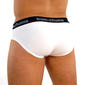 Classic White Brief - Bum-Chums Gay Men's Underwear - Made in UK