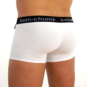 Classic White Hipster - Bum-Chums Gay Men's Underwear - Made in UK