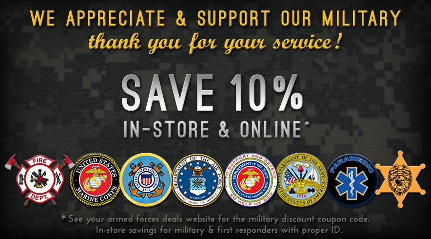 Unique eCigs Military Discount & First Responders Discount