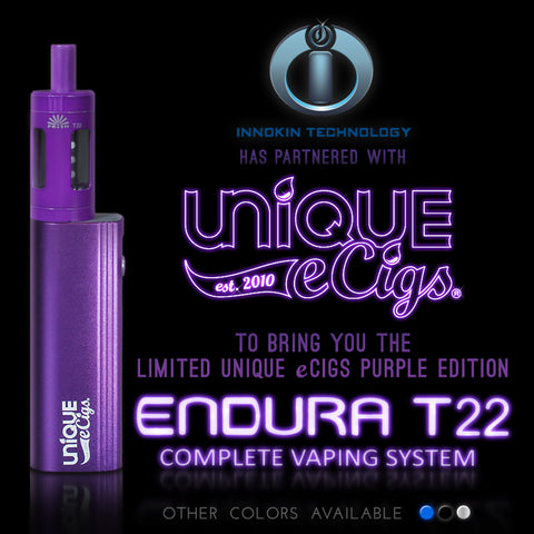 Unique eCigs Limited Edition Purple Endura T22