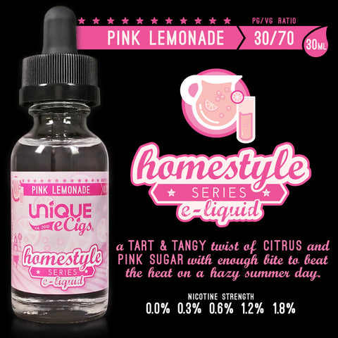 Unique_eCigs_Homestyle_Series_eLiquids_Pink_Lemonade_30ML