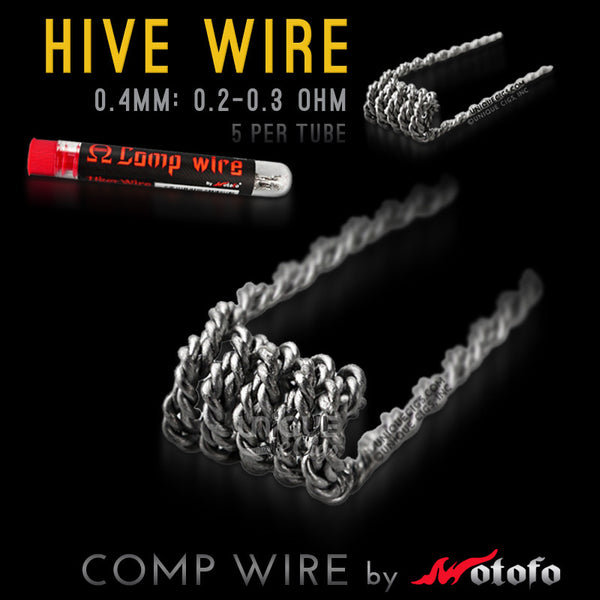 Unique eCigs HIVE Comp Wire Coil Wotofo Rebuildable
