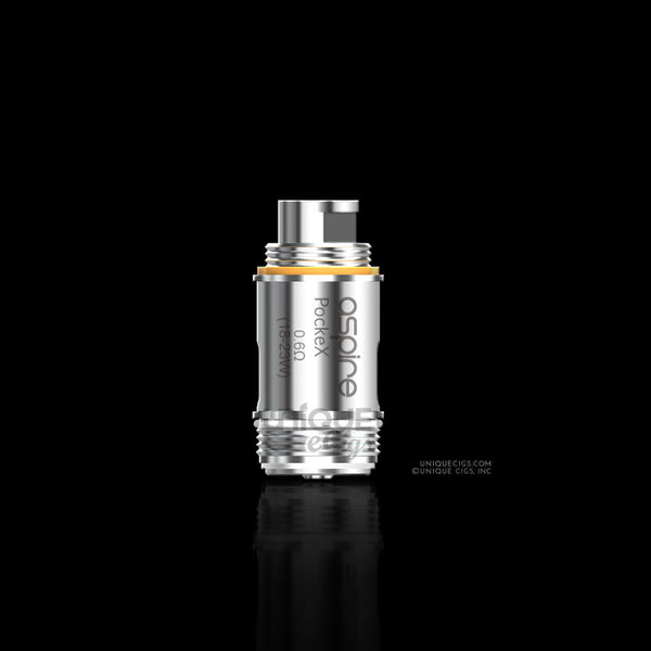Unique eCigs Aspire PockeX Replacement Coil Head