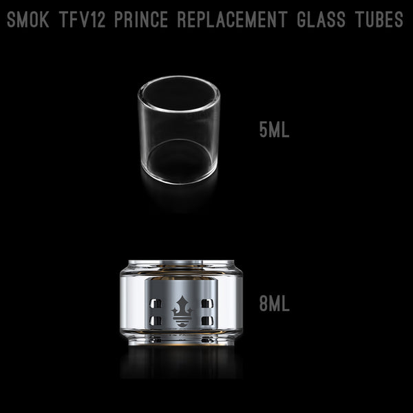 Unique_eCigs_SMOK_TFV12_PRINCE_Replacement_Glass_Tube_5ml_8ml