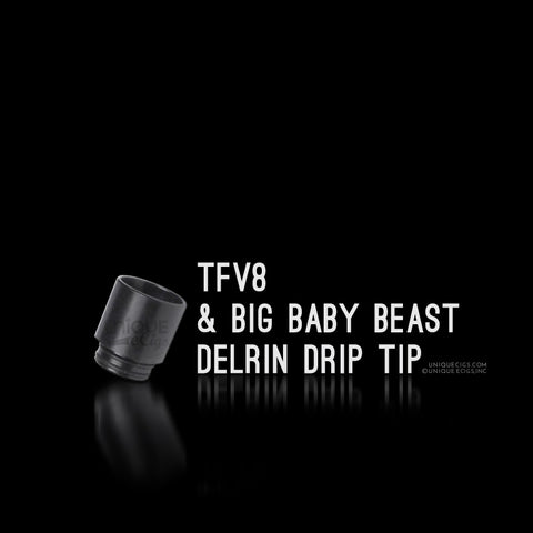 TFV8 & Big Baby Beast Replacement Delrin Drip Tip