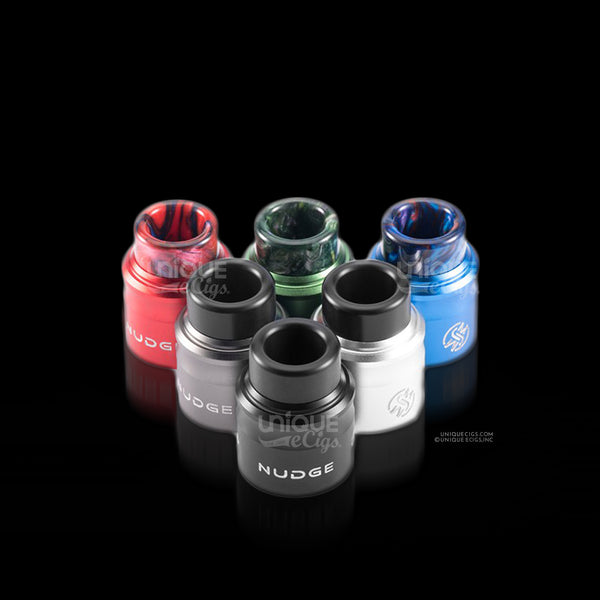 Unique_eCigs_Wotofo_Nudge_RDA_Black_Blue_Green_Gunmetal_Red_Silver