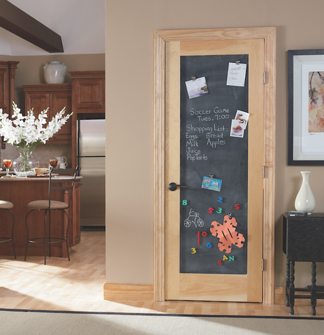 chalkboard door project