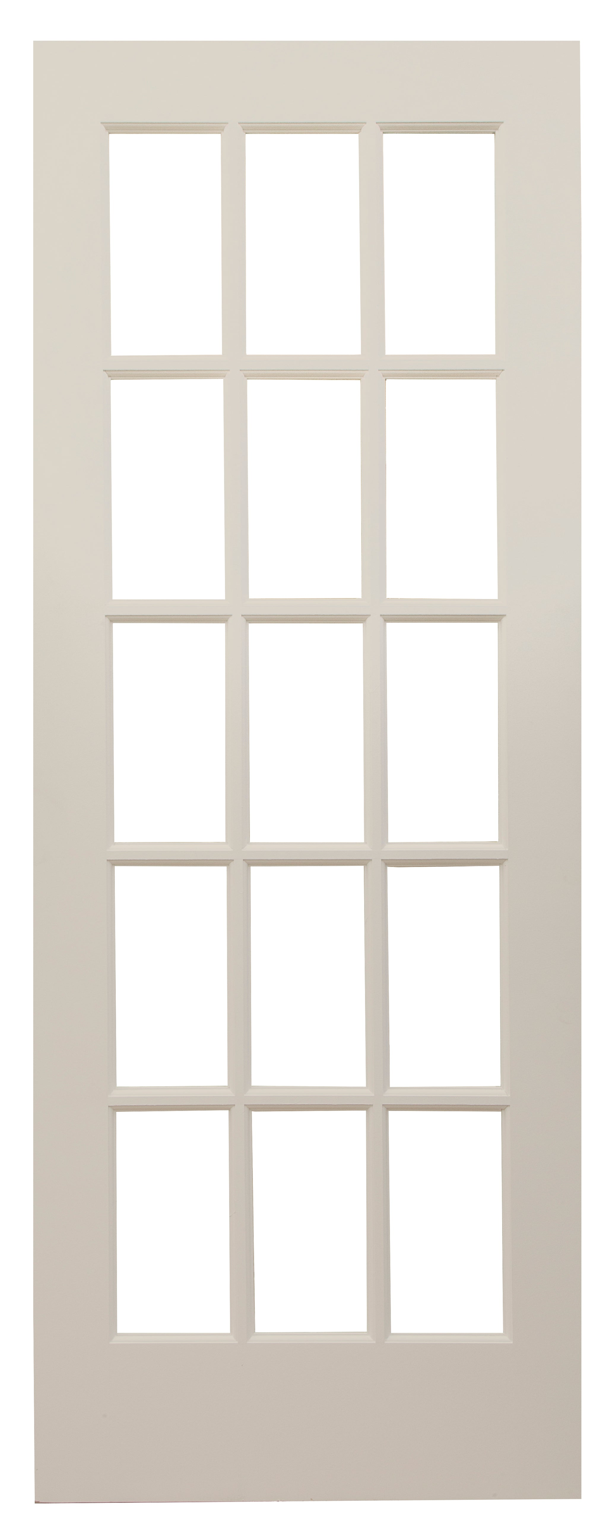 15 Lite French Door Primed Door To Door